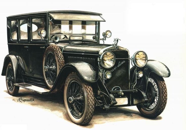 Škoda Story : La Hispano Suiza