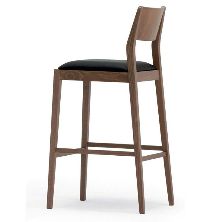 Our Julia: upholstered barstool with solid beechwood frame