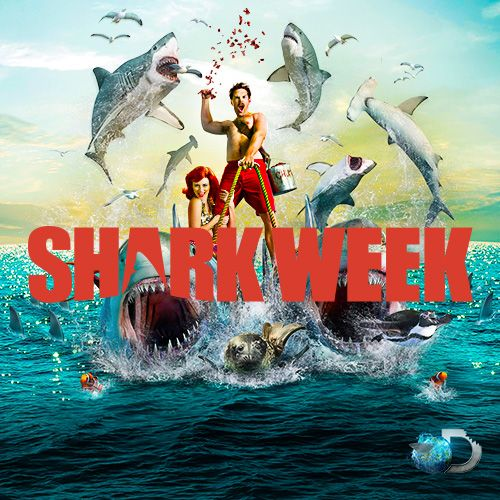 Shark Week 2014 : Discovery Channel!! Can't wait!!