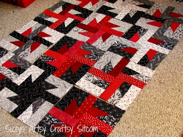Part 2 of free quilt pattern series -Windmills at Night. This is a great pattern for beginners!