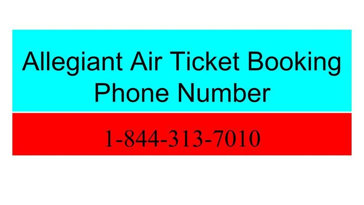 If you are looking for the best airline services at the cheapest cost then you can easily contact to Allegiant Air booking phone number who are providing the flight tickets at the cheapest cost. To know more, call at 1-844-313-7010.