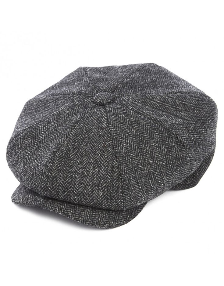 Our favourite accessory this season, the Men's 8 Piece Baker Boy Tweed Cap by Christys' London.