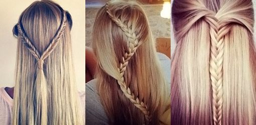 Teenage #hairstyles for girls - Back-to-School Hairstyles