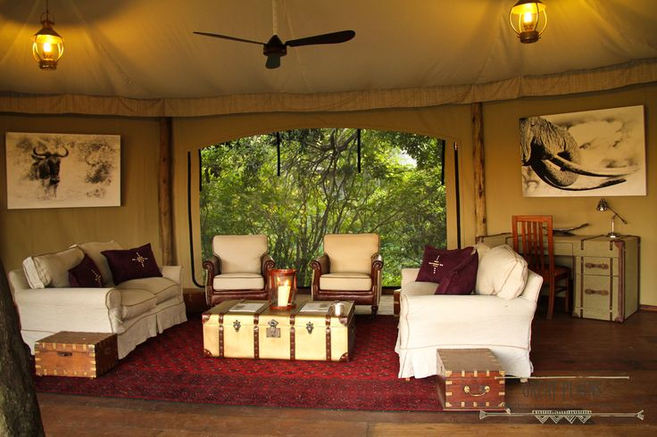 Mara Plains Camp Kenya Africa Design Decor Interior