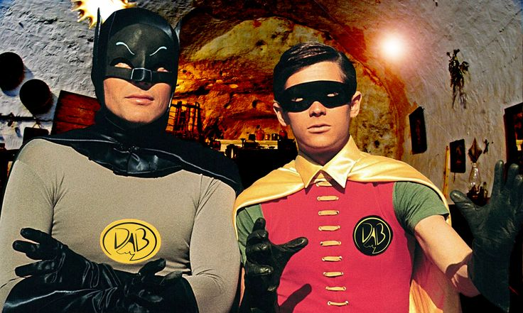 Batman & Robin from 60' TV series in Matera... What!?