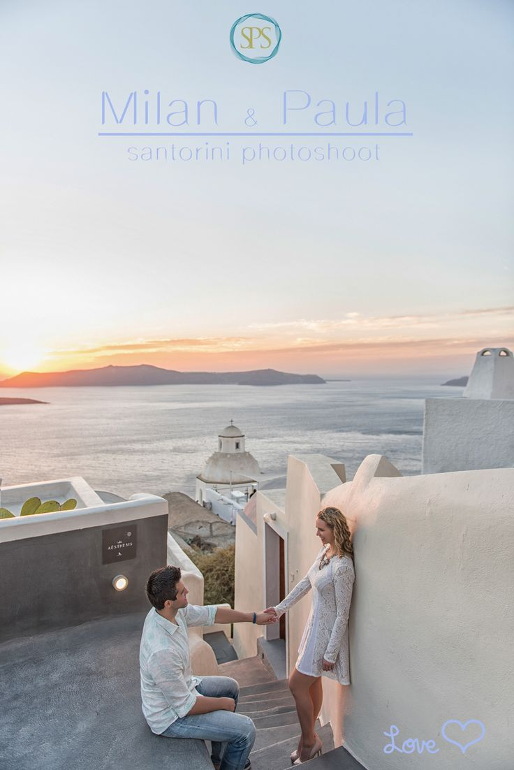 Milan & Paola | Santorini Honeymoon Photography