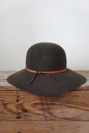 gorgeous wide brim hat