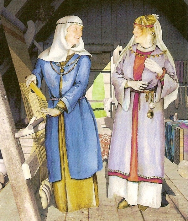 Pictures Of Ladies Middle Ages Clothing 84