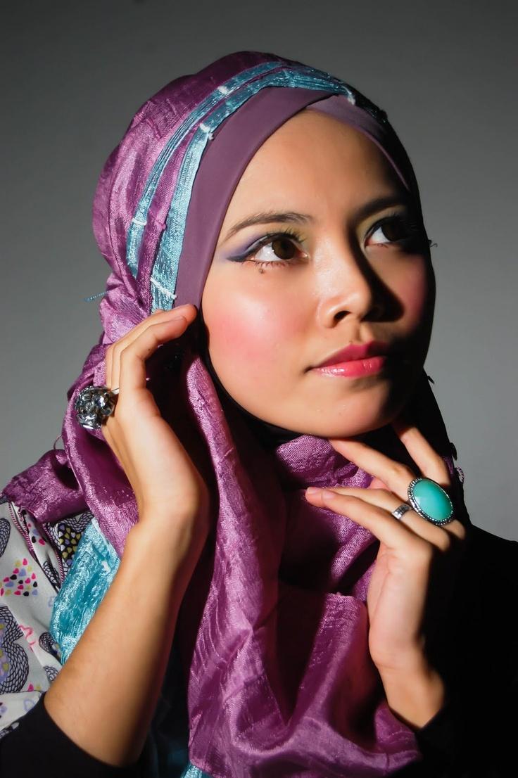 Beautiful Hijab in Malaysia female
