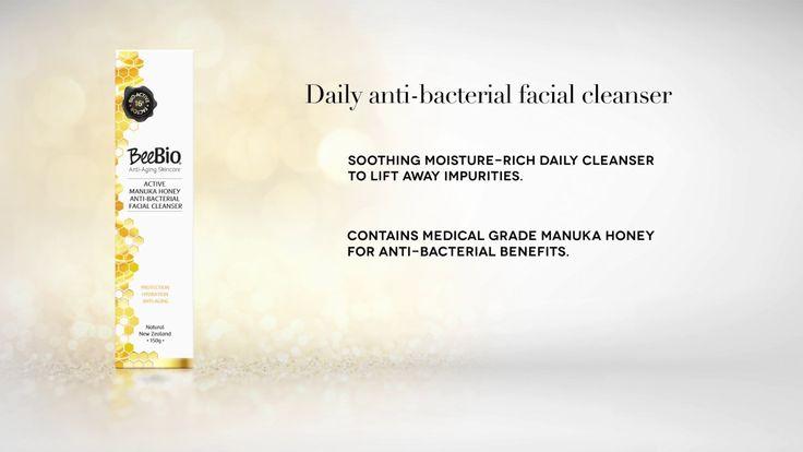 beebioskin.com Active 16 Manuka Honey Facial Cleanser 100%Vegetarian New Zealand
