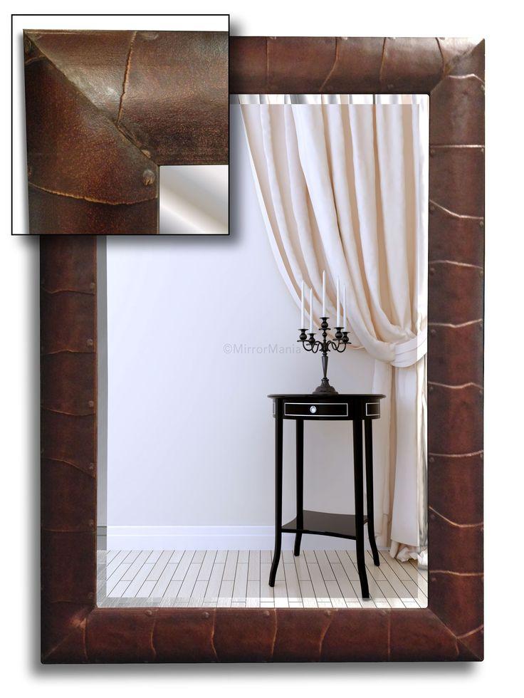 Armadillo Bespoke Handmade Framed Mirror Stock Clearance