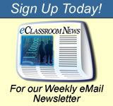 Newsletter Signup for eClassroom News - Technology news for today's teacher