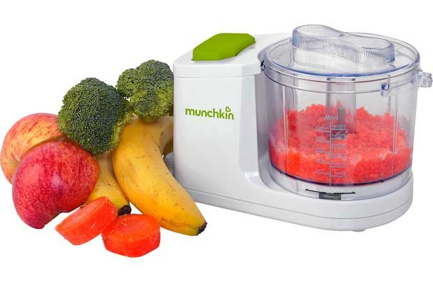 Munchkin Mini Blender is ideal for little portions and perfect for preparing meals in advance. When preparing meals in advance it saves time by freezing them and using when necessary, the mini blender has a 300ml capacity and can blender vegetables & meat and transfer them to food storage cups ready for freezing. http://www.babysecurity.co.uk/munchkin-mini-blender.html
