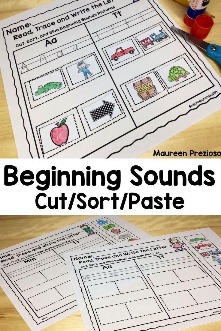 Beginning Sounds Worksheets | Kindergarten Phonics | Pinterest | Kind