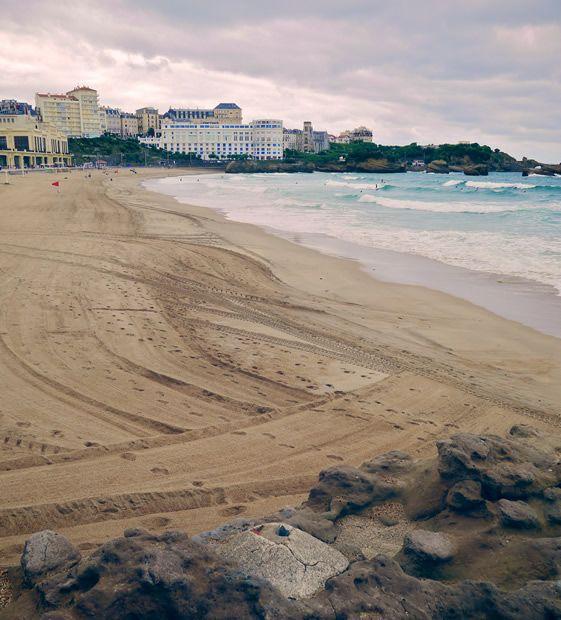 Plage de Biarritz - Pays Basque - France