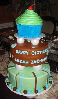 Kids first birthday cake