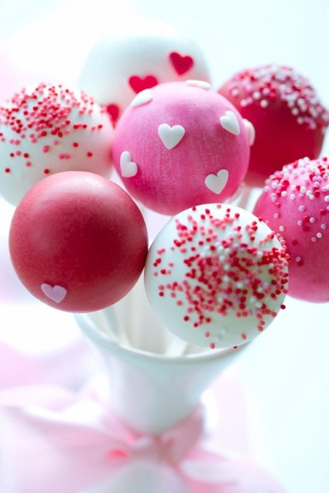 Pop cake pour la St-Valentin / Valentine's day Pop cake