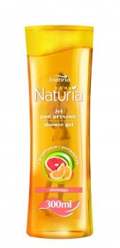 Żele pod prysznic Naturia body w poręcznych i wygodnych opakowaniach są idealne do codziennego stosowania. Żel pod prysznic z grejpfrutem i pomarańczą Naturia body sprawi, że skóra będzie oczyszczona, odświeżona i pachnąca.