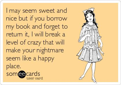 Been there. Done that...twice for my Twilight books.