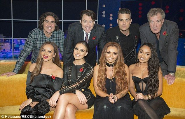 All stars: (Top right to bottom right): Micky Flanagan, Jonathan Ross, Robbie Williams, Je...
