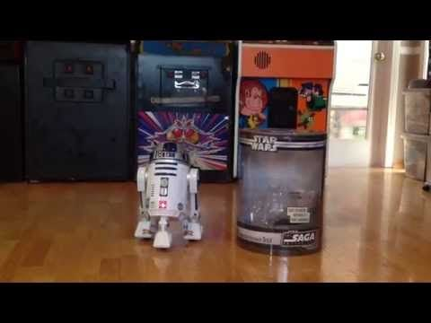 R2D2 Interactive Astromech Droid by Hasbro review - YouTube