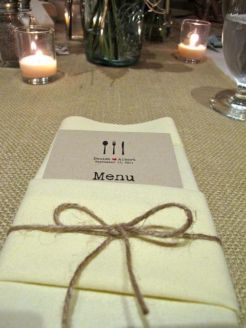 wedding menu - Google Search