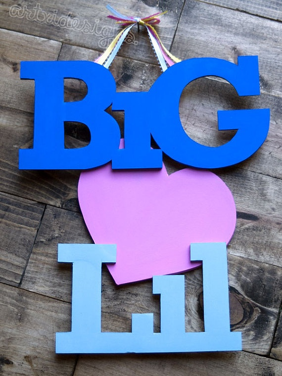 Big and Lil Love/Appreciation IttXi Letters by artxidesigns, $15.00
