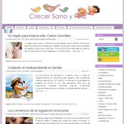blog sobre crianza natural y psicología infantil diseñado por creatiburon.