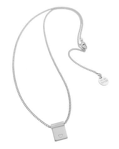 Nicole Fendel Love Always Necklace Silver
