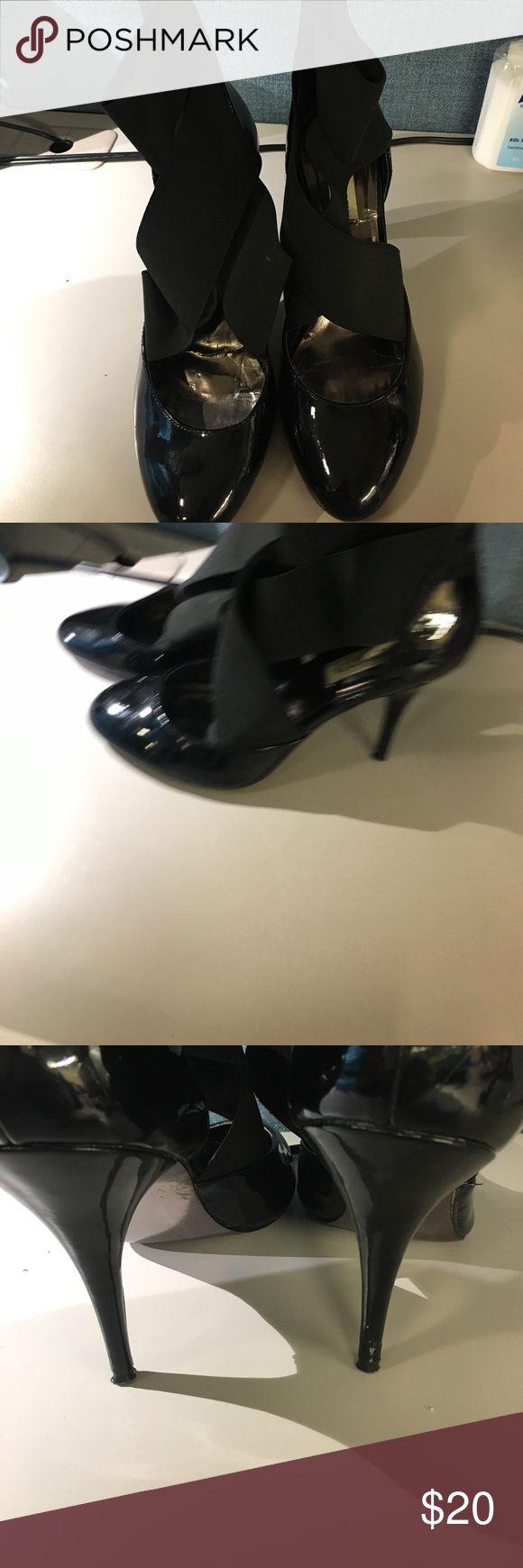 Steve Madden ballerina pumps Cleaning out closet make an offer Steve Madden Shoes Heels