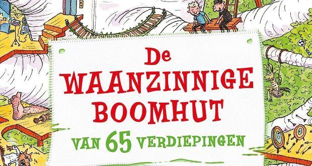 www.kinderboekenjuf.nl - Altijd al een boomhut willen hebben? Lees hiermini leeslessen en andere lesideeën bijeen waanzinnige boomhut van 65verdiepingen!
