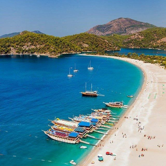 Boat trips from #Oludeniz  beach and #Fethiye  Harbor