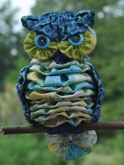 "Yo-Yo ""Al"" Owl Sewing Pattern"