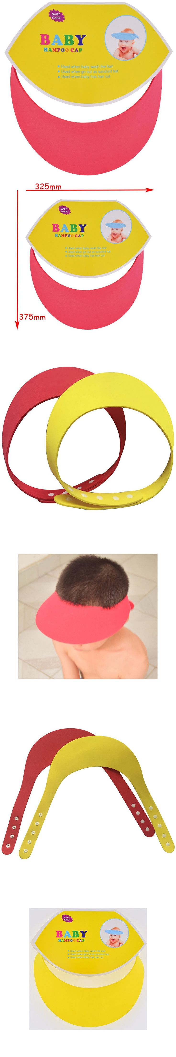 1 Pc EVA Soft Infant Baby Care Bath Protection Baby Safety Shampoo Cap Free…