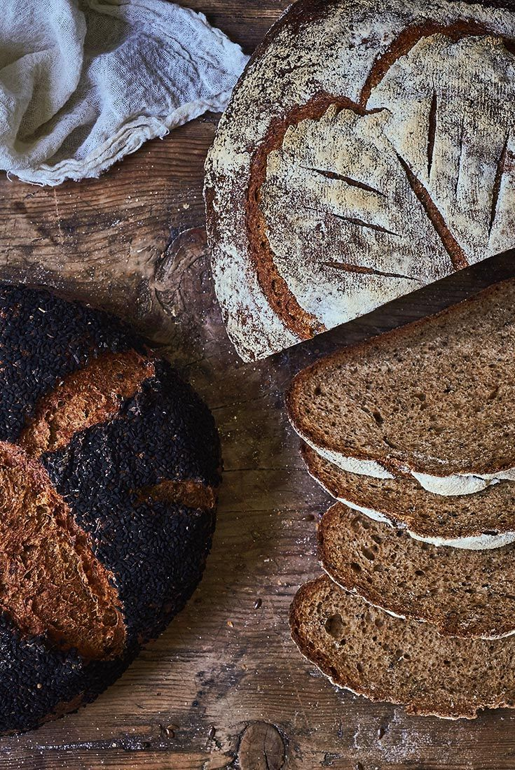 Jeffrey Hamelmans Black Bread Recipe In 2019 Bread And Other
