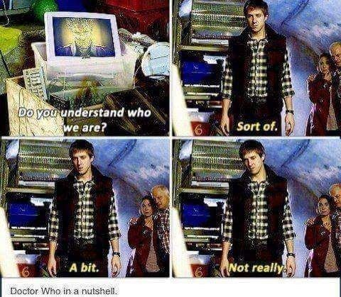 """When he admitted the confusion everyone was feeling.   9 Times Rory Williams From """"Doctor Who"""" Laid Down The Real Talk"""