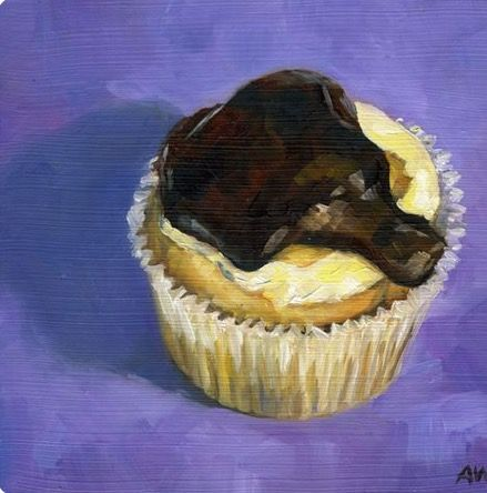 Alyssa Watters   Boston Creme Cupcake
