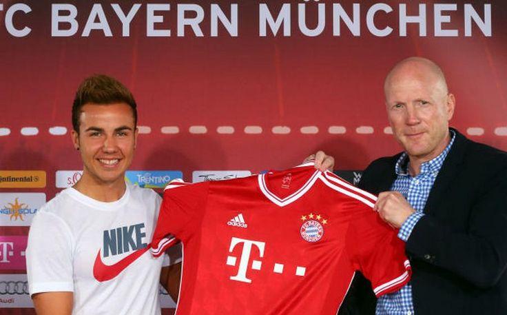 Calcio Estero - Bayern Monaco si rifà il trucco. I campioni d'Europa e di Germania  presentano i due nuovi acquisti Goetze e Kirchhoff.