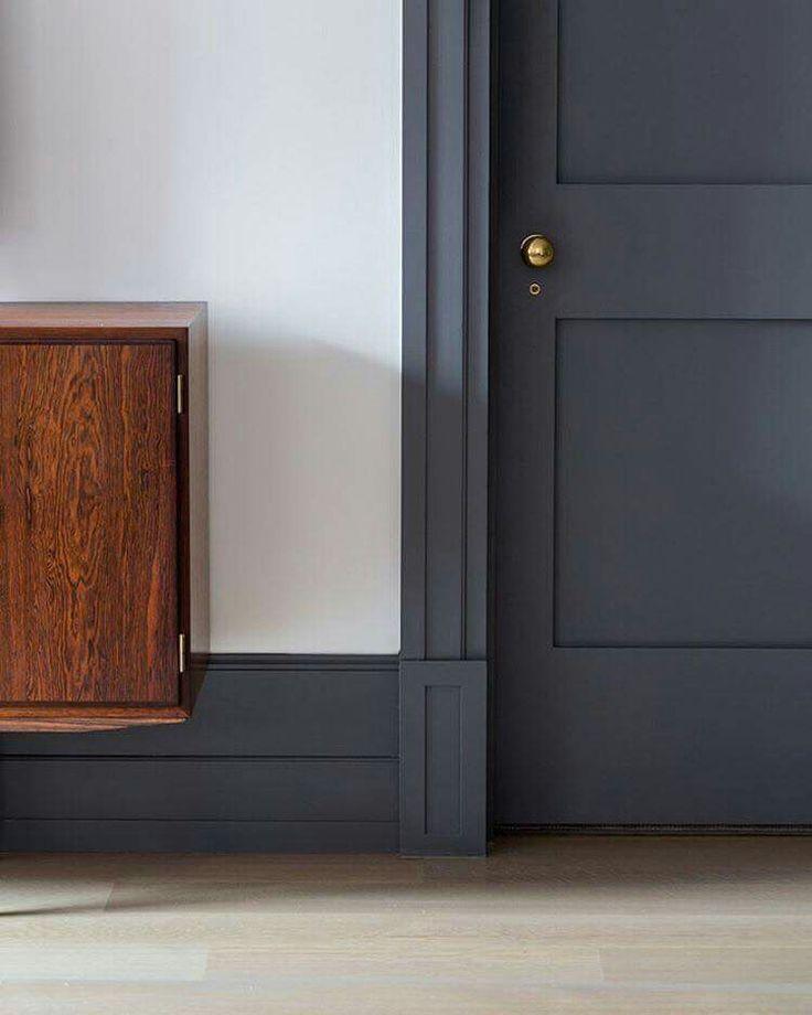 Best 25+ Grey trim ideas on Pinterest | Dark trim, Dark ...
