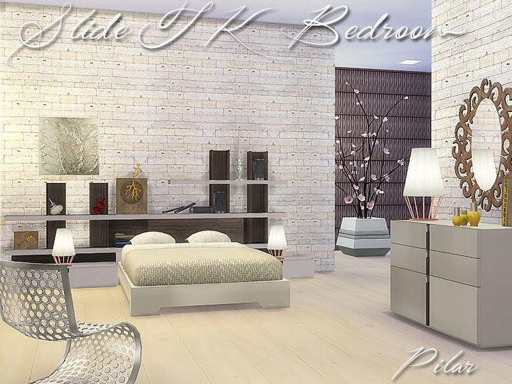 Furniture  SlideTK Bedroom by Pilar from The Sims Resource. 72 best Sims 4 Bedroom Sets images on Pinterest   Bedroom sets