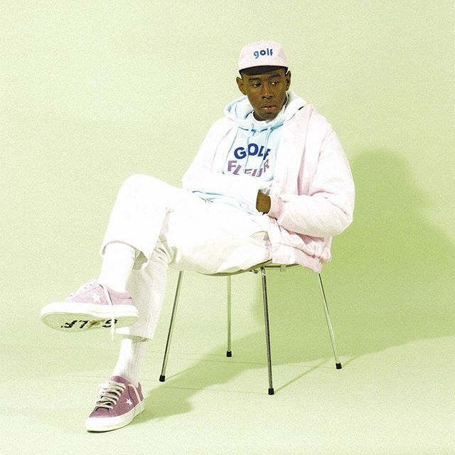 Tyler stays laced in the new Golf le Fleur x Converse One Star releasing August 3. #sneakerfreaker #snkrfrkr #converse #onestar #tylerthecreator #golflefleur  via SNEAKER FREAKER MAGAZINE OFFICIAL INSTAGRAM - Fashion  Advertising  Culture  Beauty  Editorial Photography  Magazine Covers  Supermodels  Runway Models