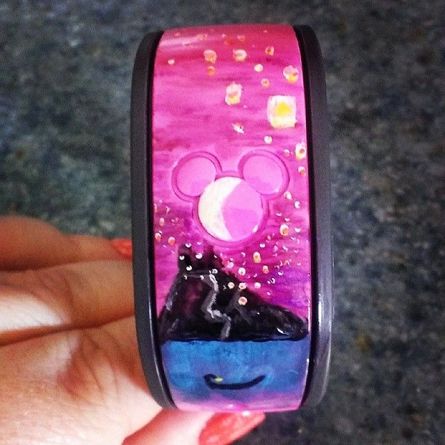 Has anyone decorated their Magic Bands? Please show us the pictures! - Page 6 - The DIS Discussion Forums - DISboards.com