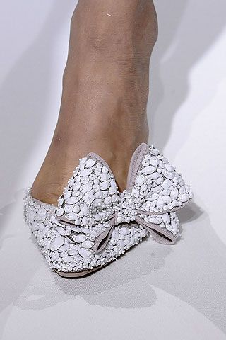 Oh Valentino - lovely shoe shame about the foot!