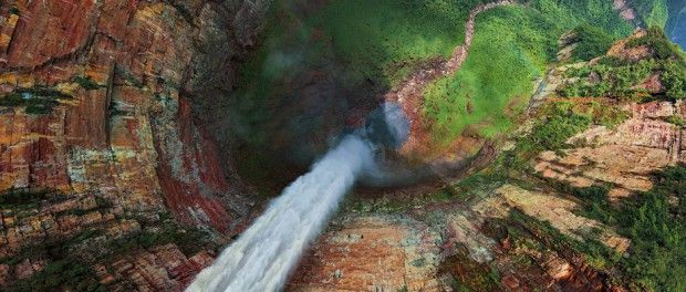 Churún-Merú, na Venezuela (foto: AirPano/Divulgação) - Fornecido por Viagem em Pauta
