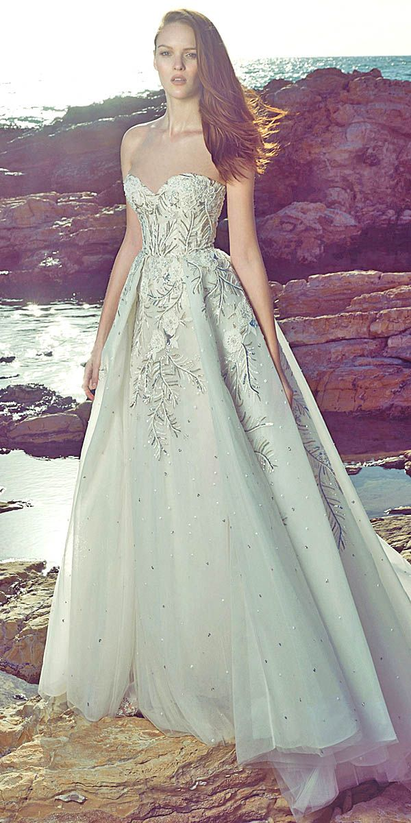 Amazing Zuhair Murad 2017 Bridal Collection ❤ See more: http://www.weddingforward.com/zuhair-murad-bridal-collection/ #weddings