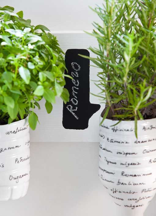44 best images about do it yourself reciclaje on - Macetas para plantas aromaticas ...