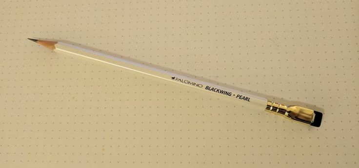 PENCIL REVIEW: THE (PALOMINO) BLACKWING PEARL