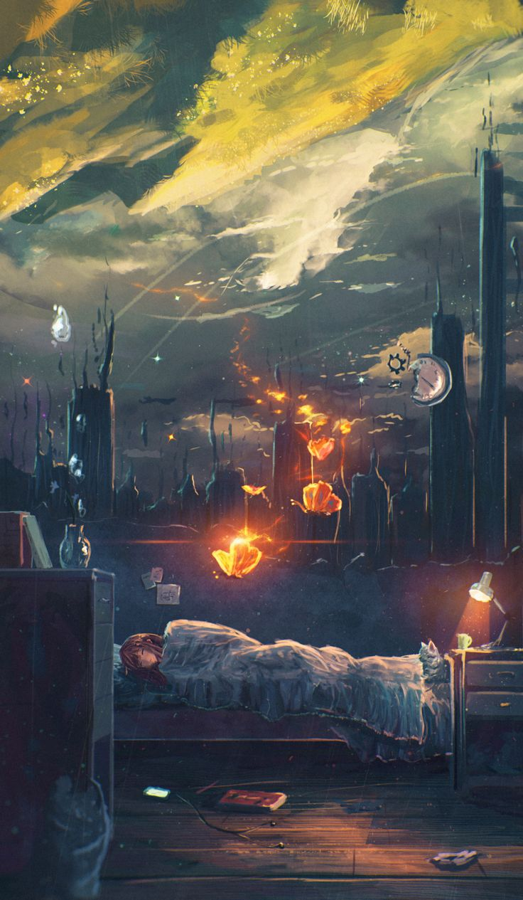 Dream by [Sylar113 on deviantArt]