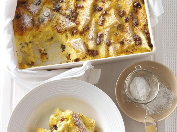 This cheat's bread and butter pudding is so easy to make and tastes heavenly with a drizzle of runny cream.