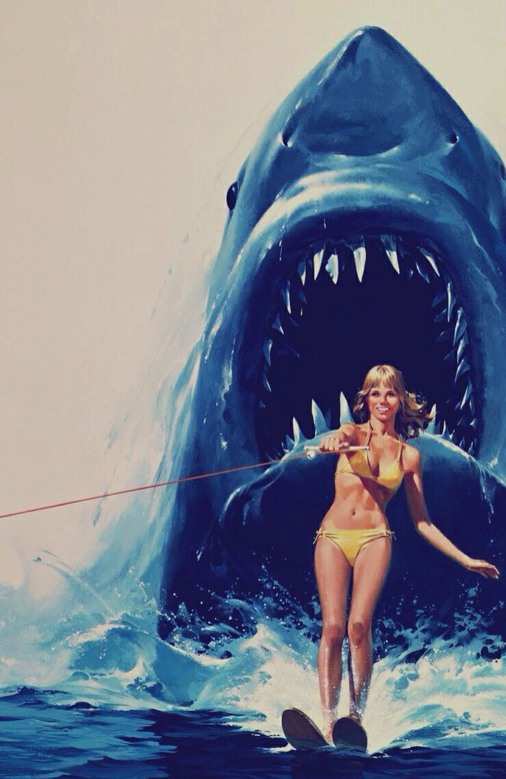 JAWS 2 #poster #art